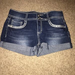 kids cute jean shorts